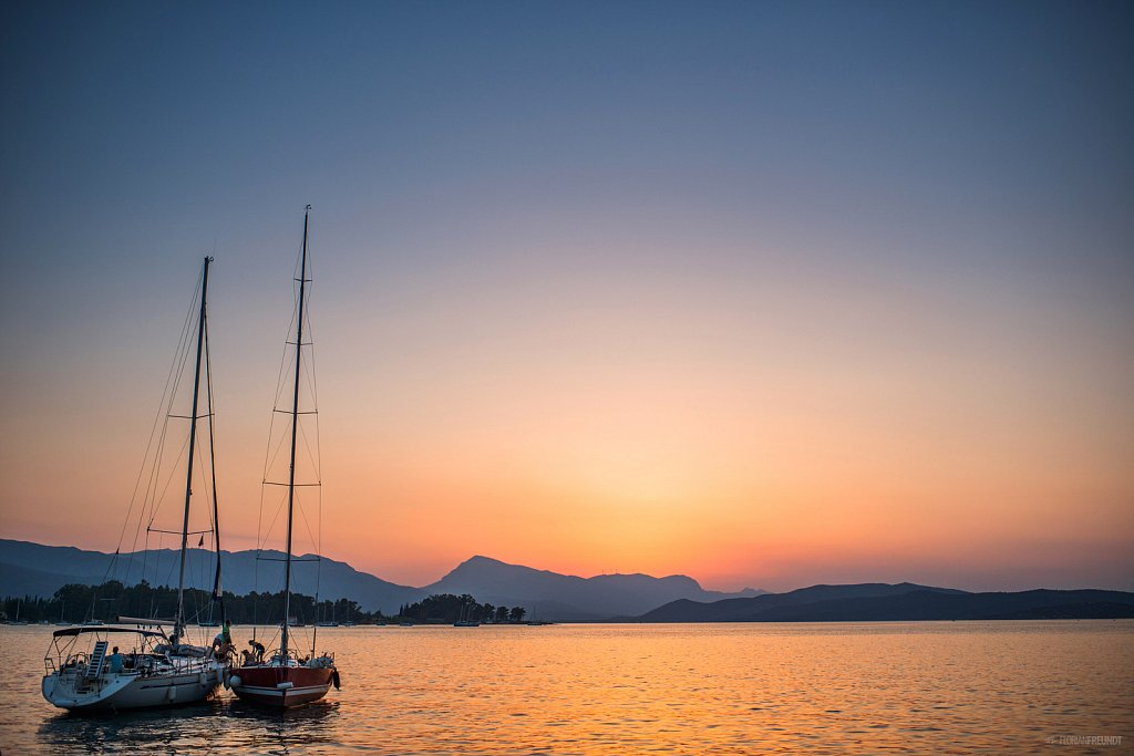 Sailing in Greece